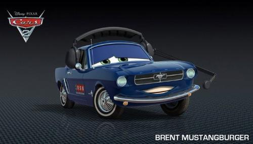 Cars 2 - Brent Mussburger as Brent Mustangburger!