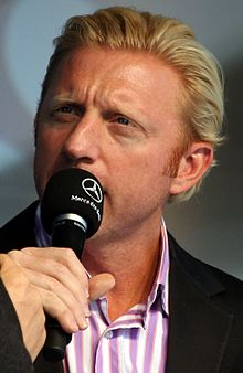 Boris Becker - Former great German Tennis Player.