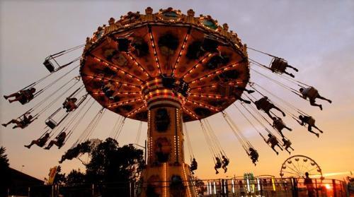 fair Ride - A ride at the Indiana State FAir.