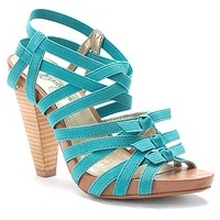 Strappy heels - A pair of strappy heels.