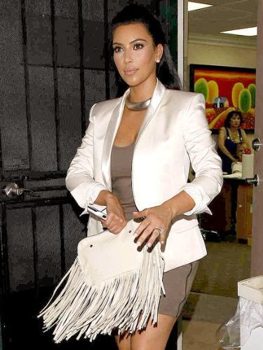 Kim Kardashian - She got married yesterday!