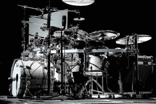 drums - a very big redundant drum set.