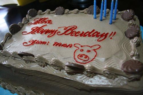 Birthday Cake - Unpleasant birthday greetings