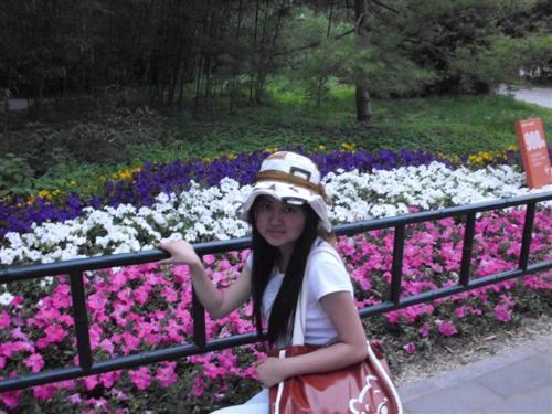 girl friend - Beijing Zhizhu park