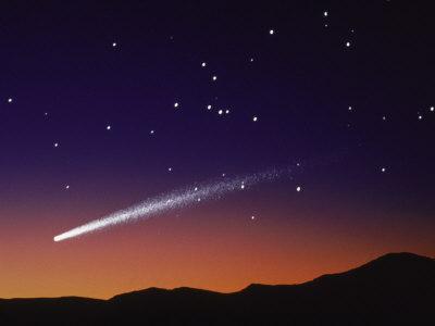 shooting star - see the shooting star