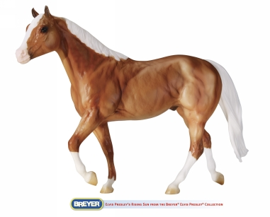 Rising Star - Breyer made this model to pay tribute to Elvis's palomimo Rising Star.