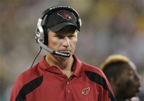 head Coach - The Head Coach for the Arizona Cardinals Ken Winehurst.