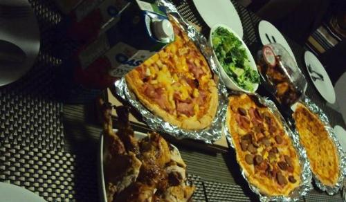 Pizza! Pizza! Pizza! - Pizza on the table