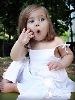 little girl - Sweet little girl