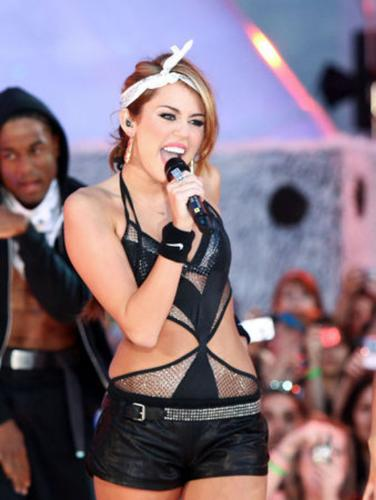Miley Cyrus - Miley became a sl*tty dresser way before she was 18! Not good!