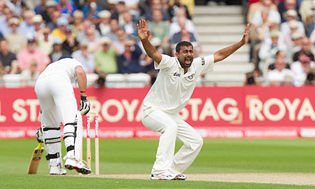 Praveen Kumar - Also shows resistance with bat in England