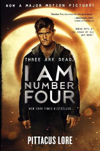 I Am Number Four: Book One - book cover