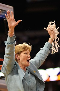 Pat Summit - She is has won more games in college basketball then anyone else! Man or woman!
