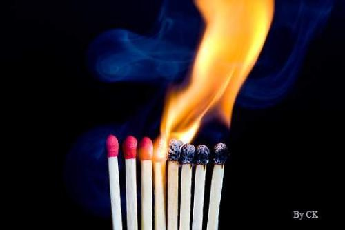 Playing with matches - Gallery photo