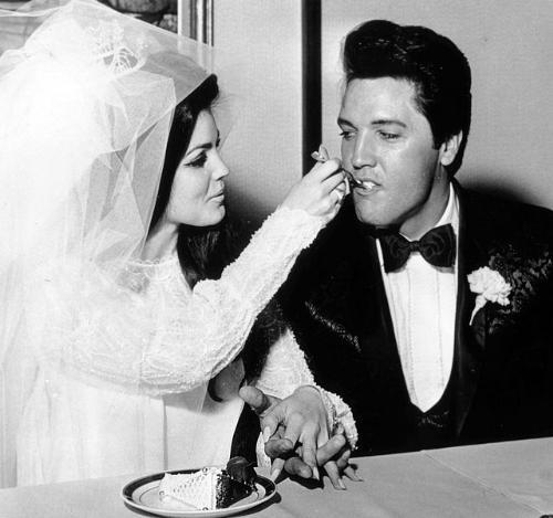 Priscilla and Elvis - The wedding day of Priscilla and Elvis.