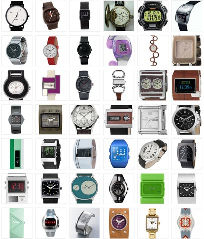 Watches  - Different types of watches