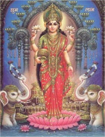 goddess lakshmi - this is hindu goddess laxmi