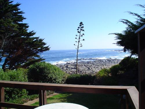 The Pacific ocean - This is a picture taken at Isla Negra, Chile. The sound of the waves against the boulders are awesome