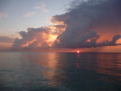 Sunset - Sunset over Miami.