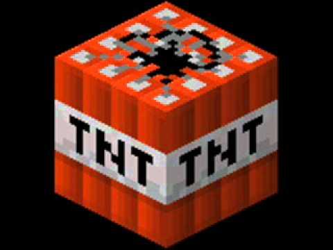 TNT Block - A Minecraft TNT block.