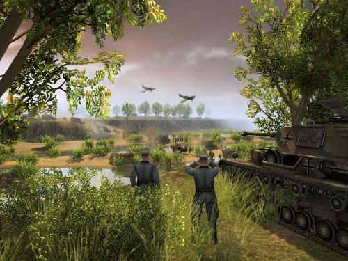 Men of War Ambush - Men of War German Ambush an Allied convoy