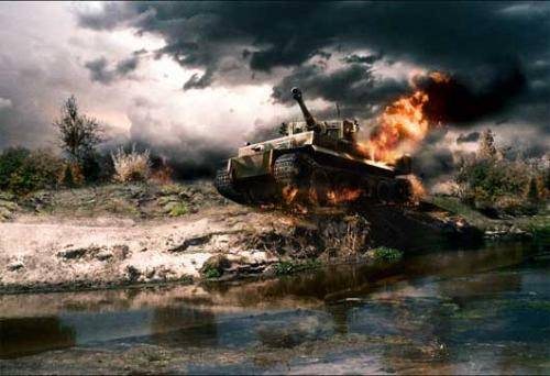 Men of War Pzkpf Ausf VI Tiger - Tiger tank wallpaper