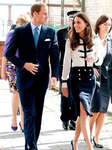 The Duke and Duchess of Cambridge - Prince William and his beautiful wife Catherine.