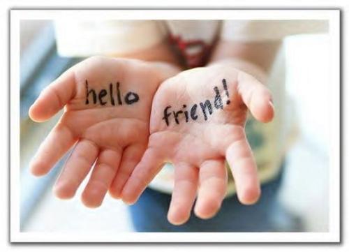 Hello Friend - friend request