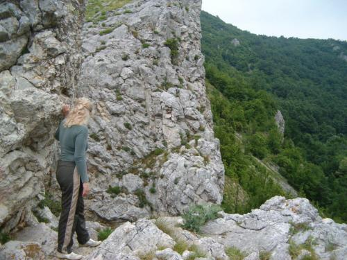 Cheile Nerei - Romania - This picture was taken while we were hiking in Cheile Nerei
