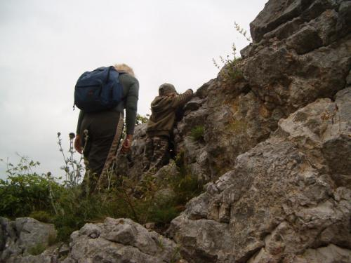 hiking in Cheile Nerei - Romania - This picture was taken while hiking in Cheile Nerei
