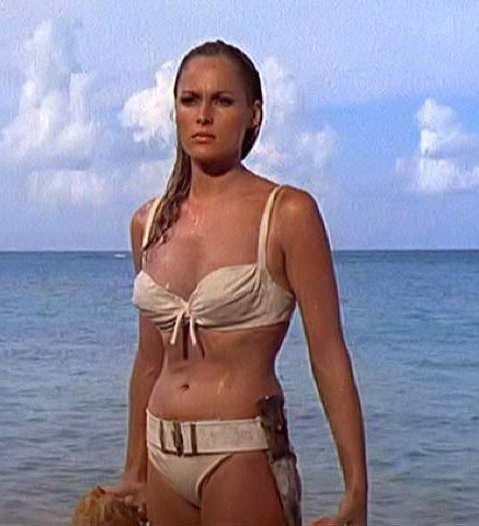 Bikini - This one of the bikini's worn by one of the Bonds Girls in one of the James Bond movies.