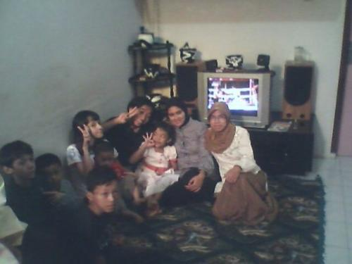 My aunt - My aunt family.