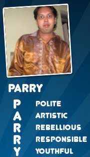 Full form of Parry - Just check the Pic u will Come To Know what does my Name Stands for