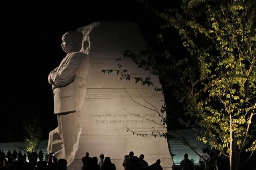Martin Luther King statue - The new monument saluting Martin Luther King,in Washington D.C.