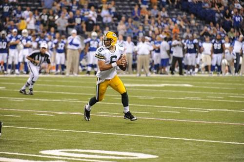 Packers Backup QB - Graham Harrell is currently the third string QB for the Packers. Here he si playing agaisnt the Colts friday night! On the other photos I was saying saturday night! My mistake!