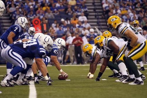 Colts, Packers - The Indianalpolis Colts verse the Green bay Packers friday night.