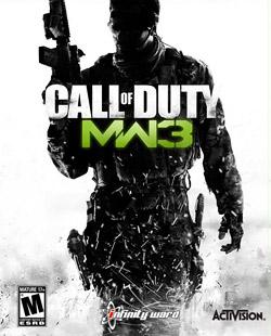 Call of Duty: Modern Warefare 3 - Call of Duty Modern Warefare 3 Game Case