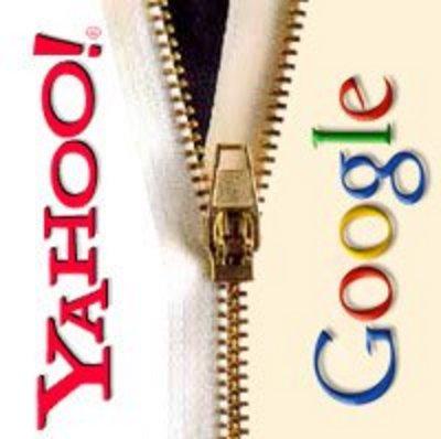 Yahoo Google Merger - Yahoo and Google.