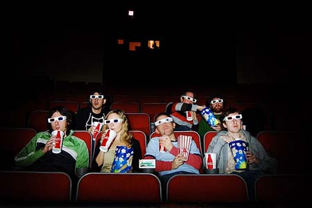 Watching a 3D movie in theater. - Watching a movie with no death. Do you remember any?