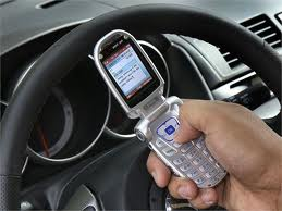 Danger to talk in hp while driving. - Many do it even while sms.