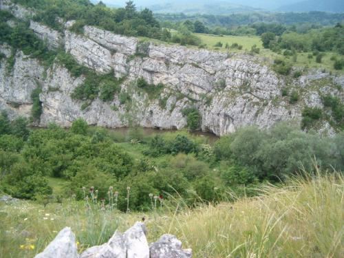 Cheile Nerei - Romania - This picture was taken when hiking in Cheile Nerei