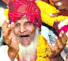 Habib Miyan: Oldest man ever died. - Habib Miyan of Jaipur, India lived for about 138/139 years. His name was included in Limca Book of World's records in 2005.