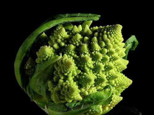 romanesco broccoli  - Beautiful and delicious