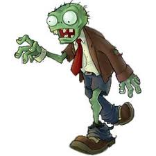 Being a zombie and eating - Zombies and what kids eat