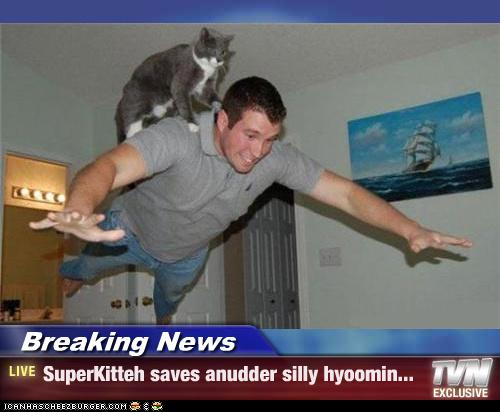 Superkitteh - Saves a hyoomin