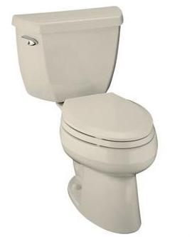 Grey toilet - Grey toilet and grey seat!!