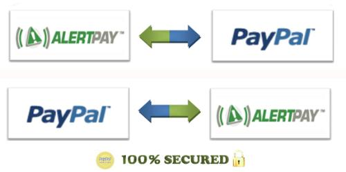 PayPal to AlertPay - Transfer funds between PayPal and AlertPay