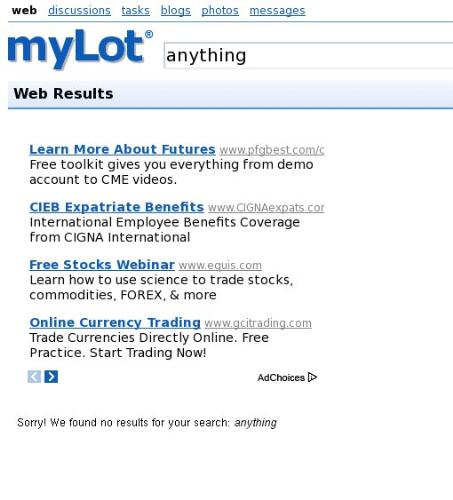 Search - Search not working. Try anything?