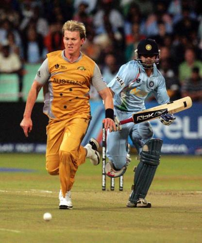 Brett Lee - Great Australian bowler.