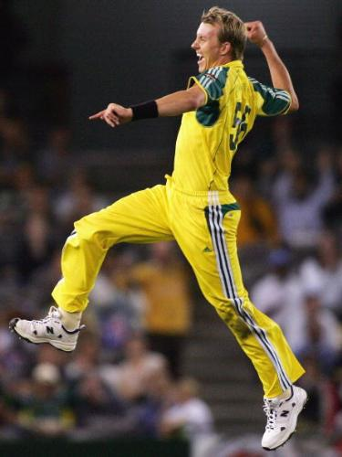 Brett Lee - great all-rounder for Australian cricket